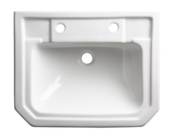 TAVSCDB850S Vitoria semi countertop basin 2 tap holes