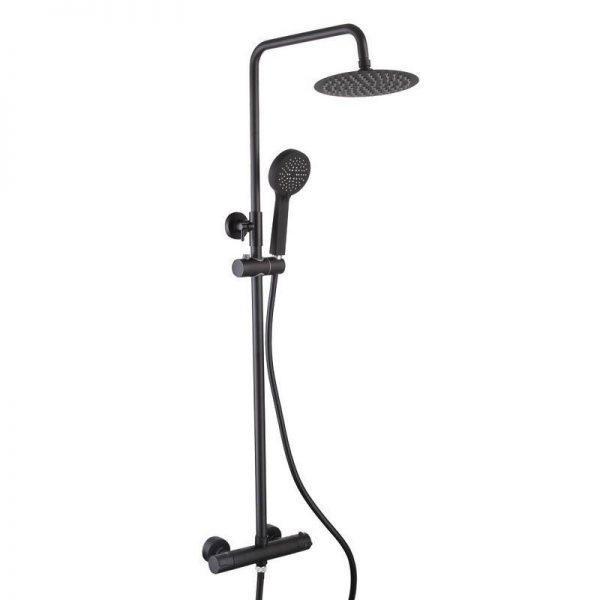 Sorento Round Shower with Rigid Riser