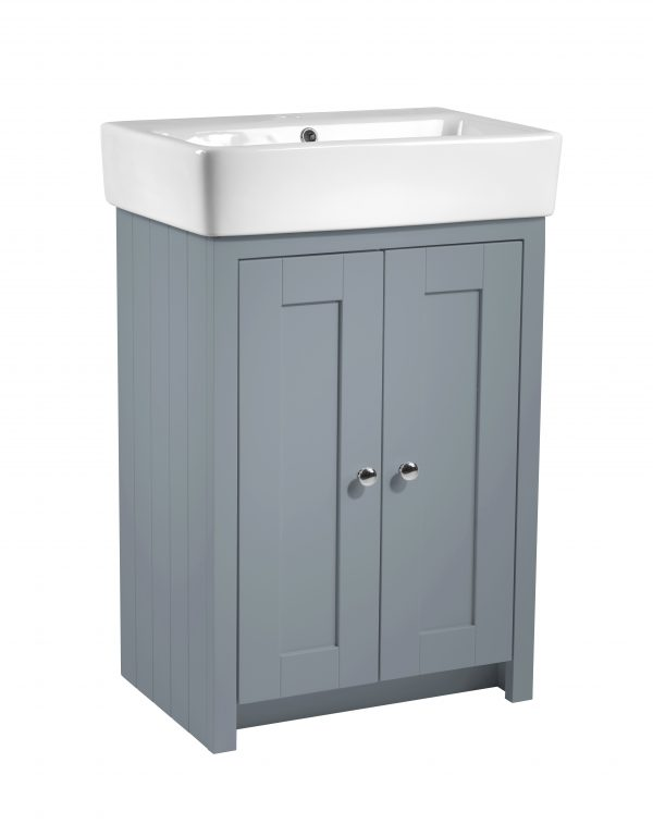 Lansdown 550 freestanding unit mineral blue TAVLAN550B.MB