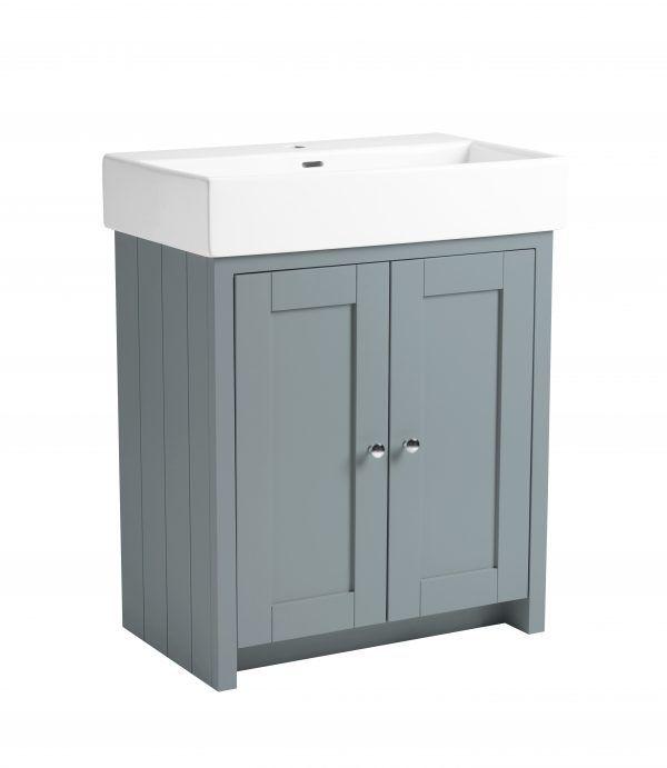 Lansdown 700 mineral blue vanity freestanding unit TAVLAN700B.MB