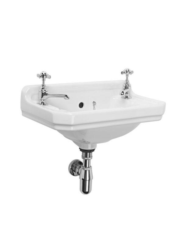 TAVDB850CLS TAVTRAP6 Vitoria Cloakroom basin and bottle trap