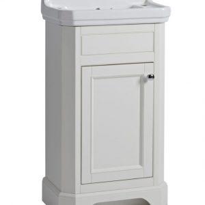 TAVVT50FLW Vitoria cloakroom unit linen white
