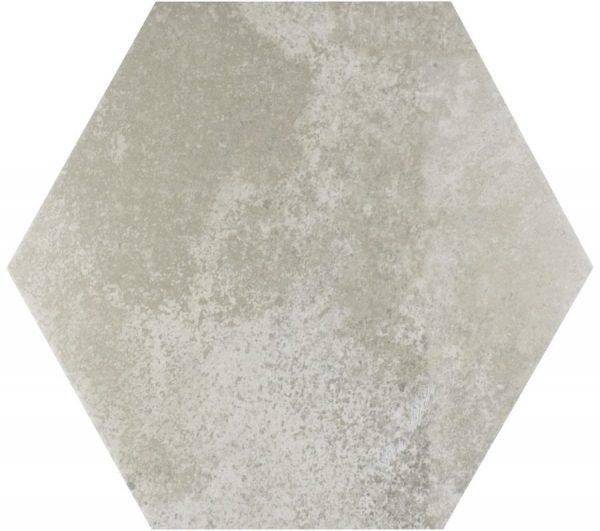 memphis grey hex wall and floor tile 439725