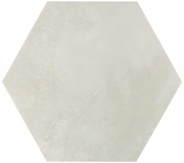 memphis white hex wall and floor tile 439720 1