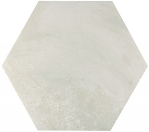 memphis white hex wall and floor tile 439720 2 1