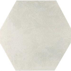 memphis white hex wall and floor tile 439720 3 1
