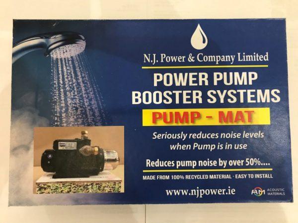 n.j. power power pump booster systems pump mat