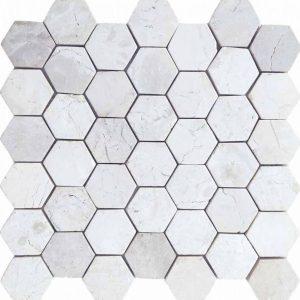 hexagon Ivory scaled