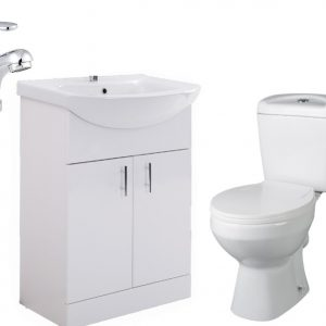 MELBOUNE TOIELT STAINSBY UNIT WITH TAP