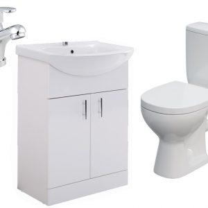 Toilet & Vanity Unit Suite