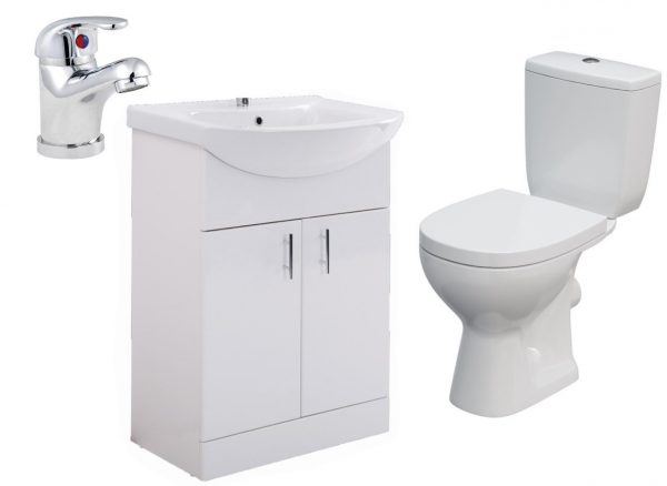 STAINSBY UNIT WITH TAP ARTECA TOILET scaled