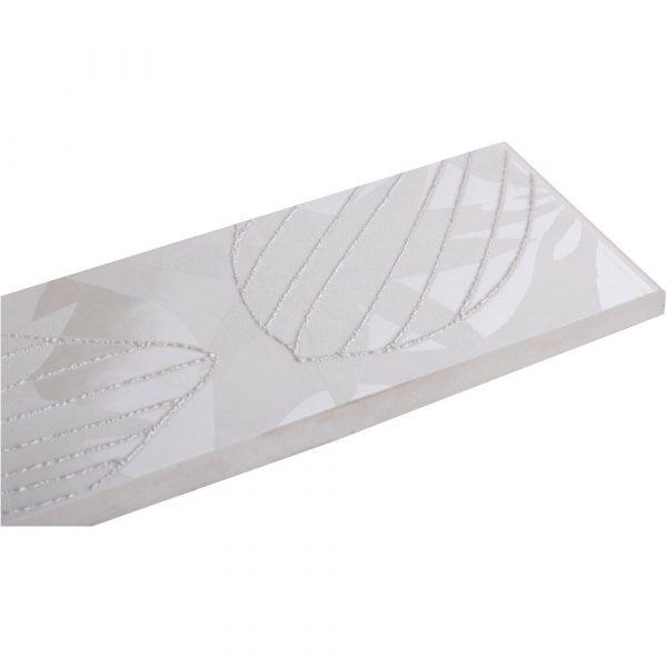 Cersanit 5x40 elvana bianco border