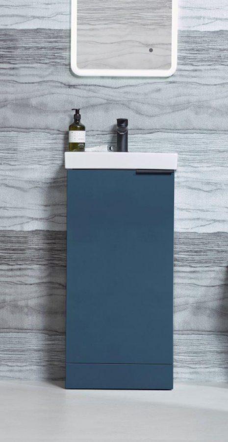 Cadence cloakroom unit oxford blue finish lifestyle copy